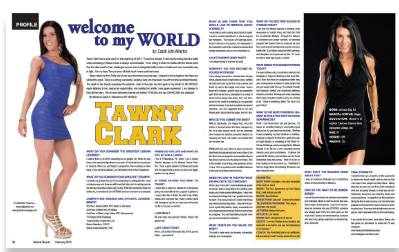 Natural Muscle Magazine February 2014